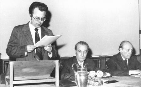Wissenschaftliche Tagung der Akademie der Medizinwissenschaften, Temeswar 1981: Eröffnungsreferat Thomas Breier
