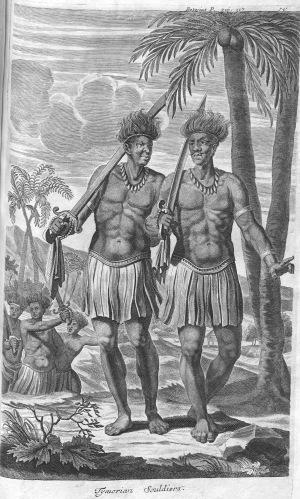 Timoresische Krieger